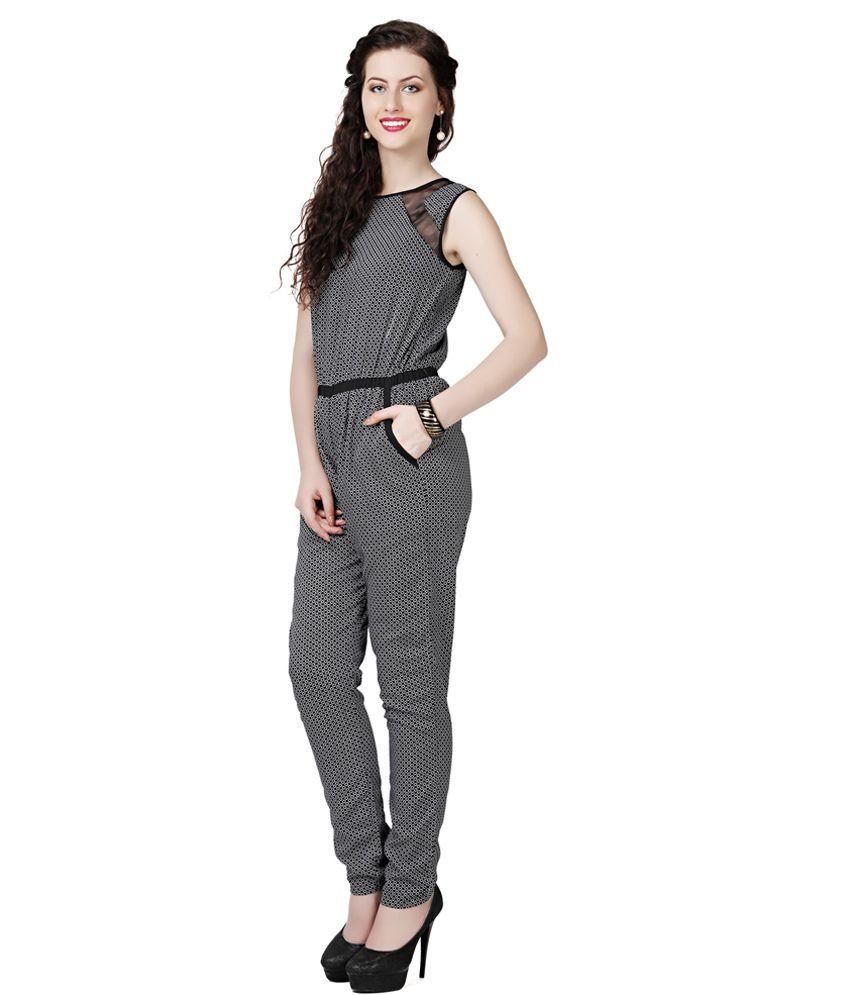 4a3ab0d5b84 Eavan Black Jumpsuit - Buy Eavan Black Jumpsuit Online at Best ...