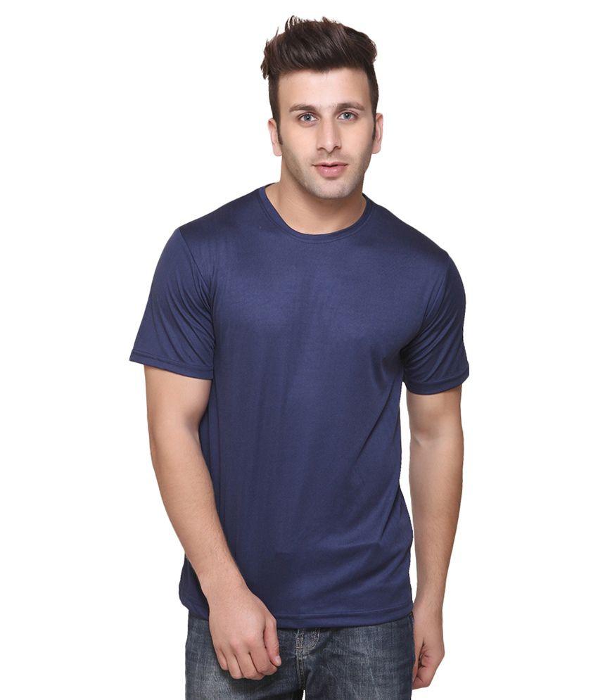 Funky Guys Navy Cotton T-Shirt