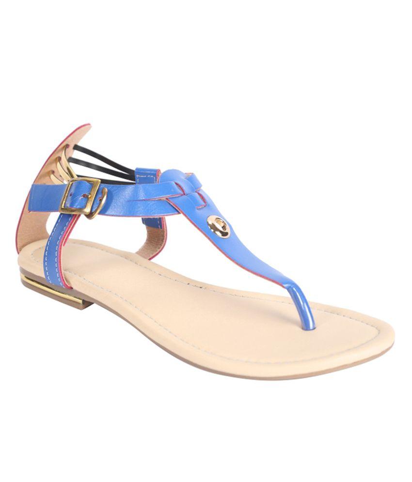 Mahi Fashion Blue Sandals
