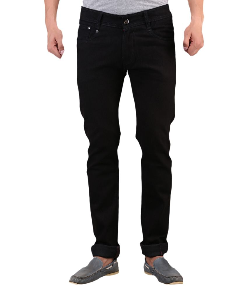 X-CROSS Black Regular Fit Jeans