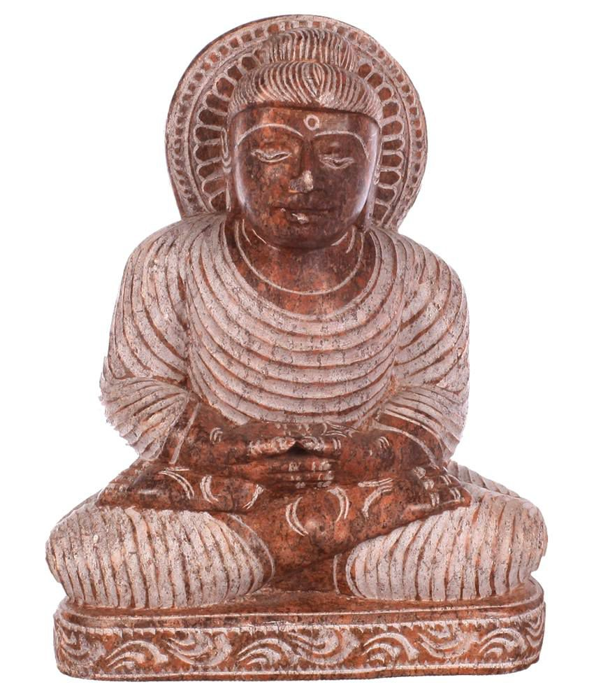 Poompuhar red stone carving elephant best price in