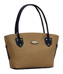 Fostelo Beige Shoulder Bag