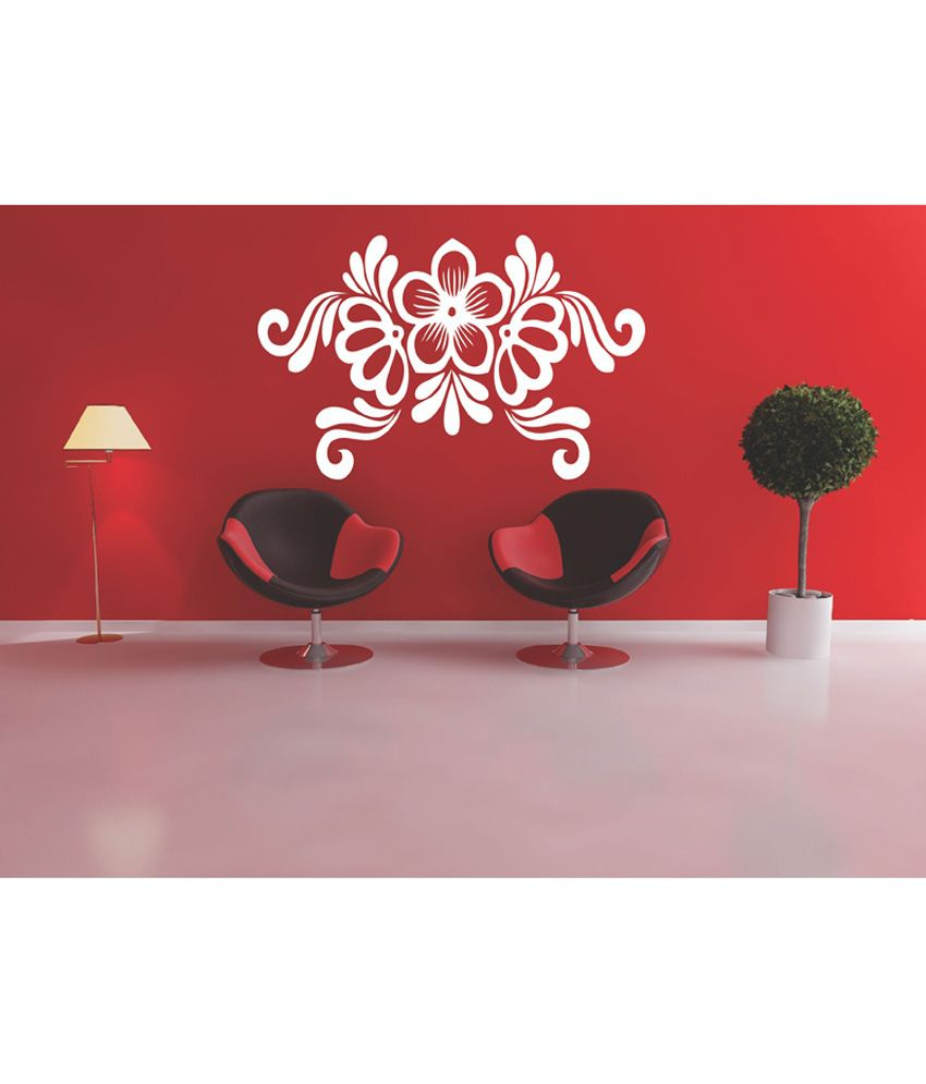 Ddreamz Rangoli Design PVC Vinyl Wall Sticker  Medium ...