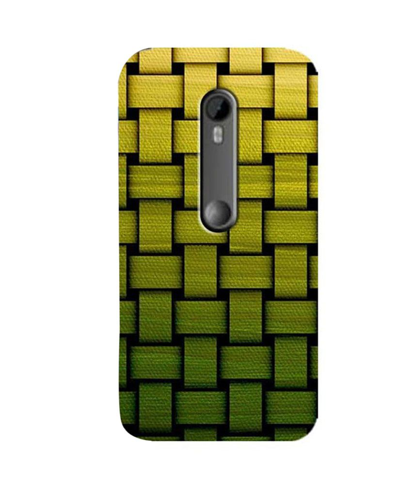 Zapcase Back Cover For Motorola Moto G3 - Multicolor