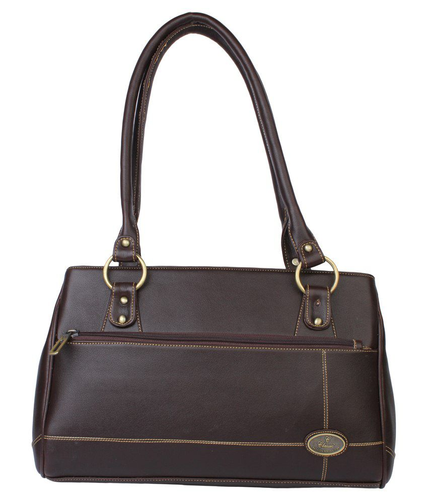 Classic Tan Shoulder Bag