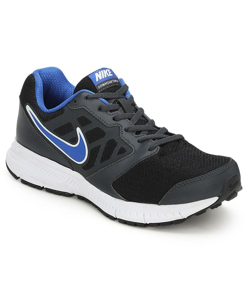 Nike Downshifter Msl Black Sports Shoes