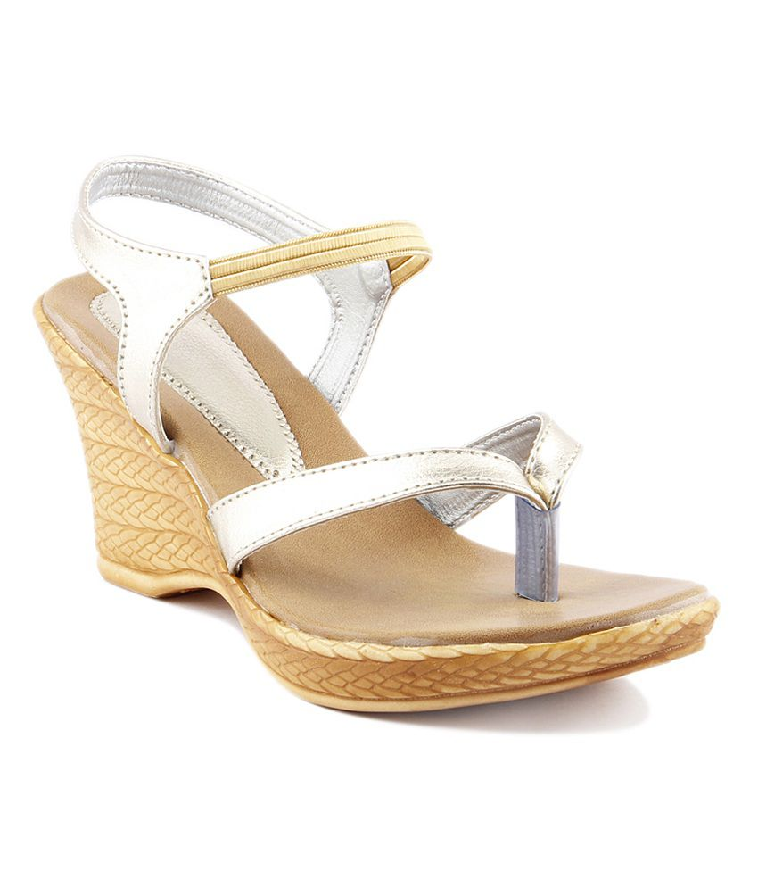Wellworth Silver Heeled Sandals