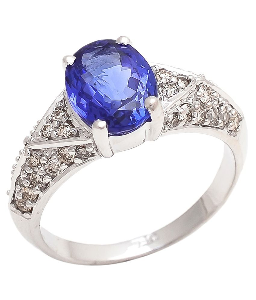 Tanzanite Buying Tanzanite: Diamonds International 14Kt Tanzanite Ring: Buy Diamonds