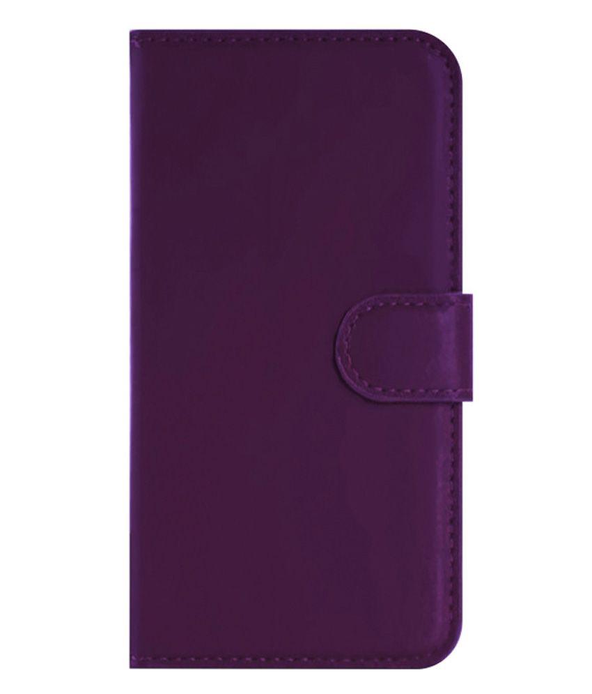 online store 8647a 7a779 Grafins Flip Cover For Motorola Moto G 3rd Gen - Purple