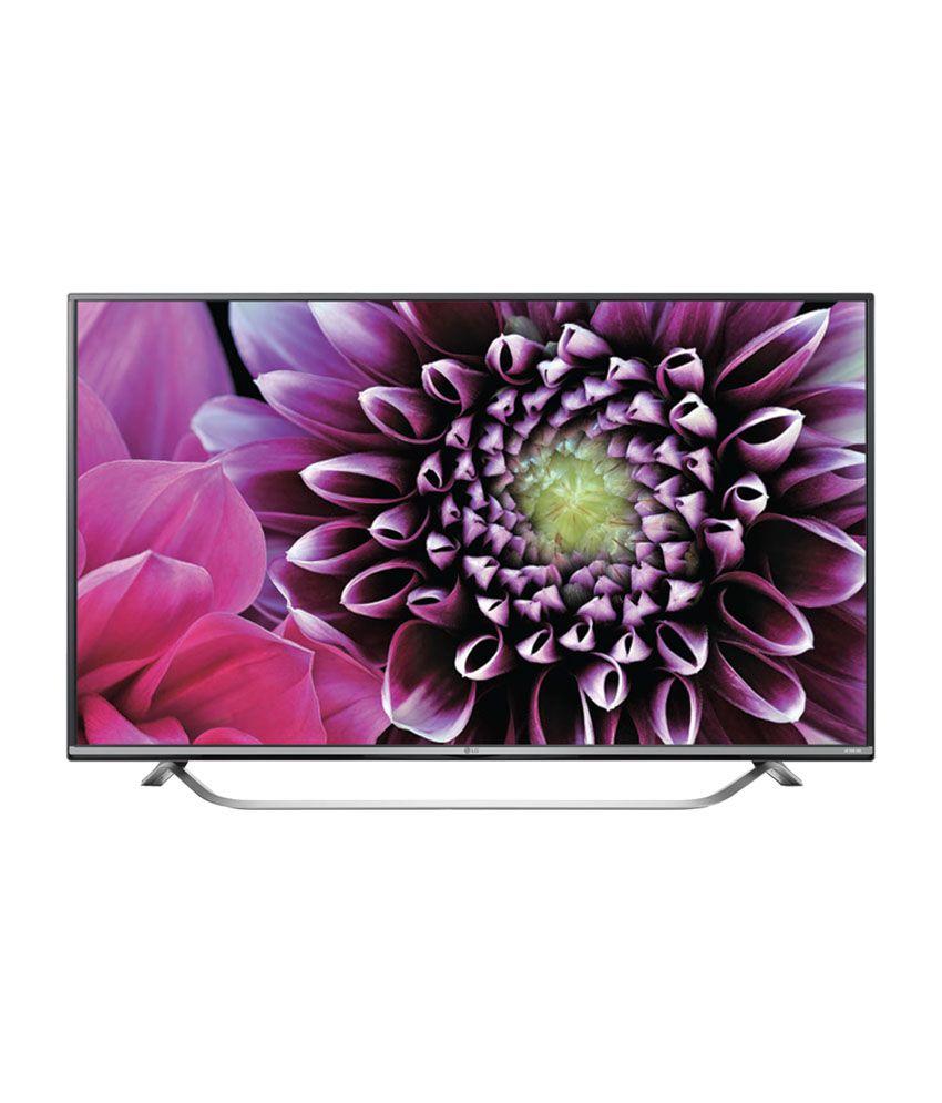 LG 49UF770T 124 cm (49) 3D Smart 4K (Ultra HD) LED Television