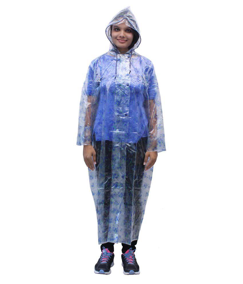Romano Women'S Transparent Rain Overcoat