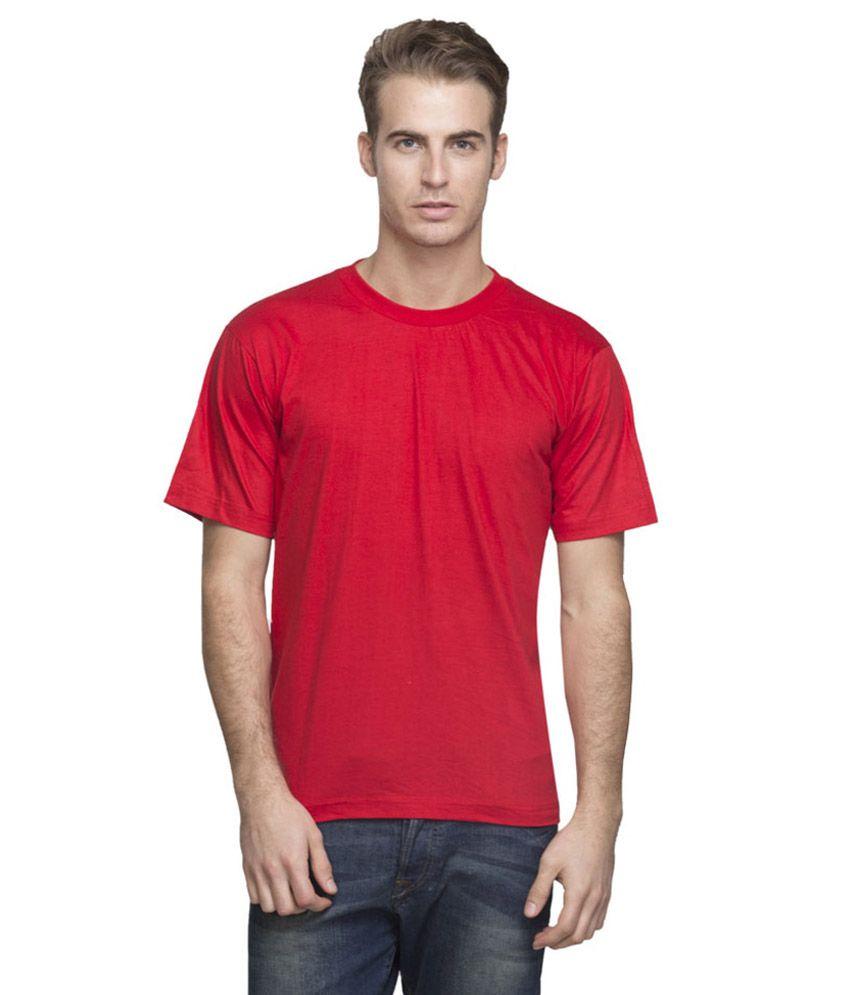 Tcp Orange Cotton Blend T Shirt