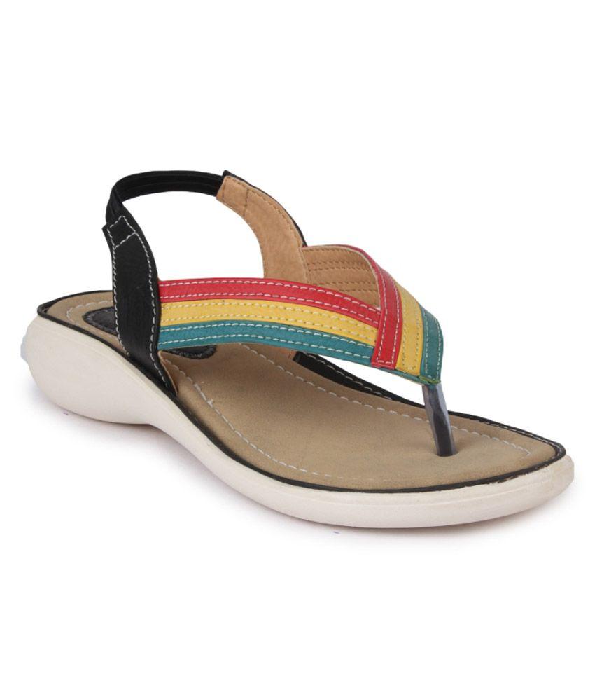 Vilax Multicolor Heeled Sandals