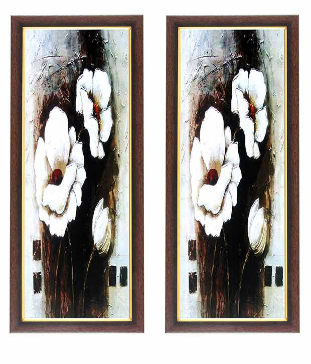 Wens Flower Painting Wall Art (Buy 1 Get 1)
