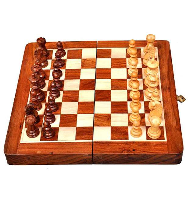 Best Chess Wooden Magnetic Chess Set With Chess Pieces 12 Inches