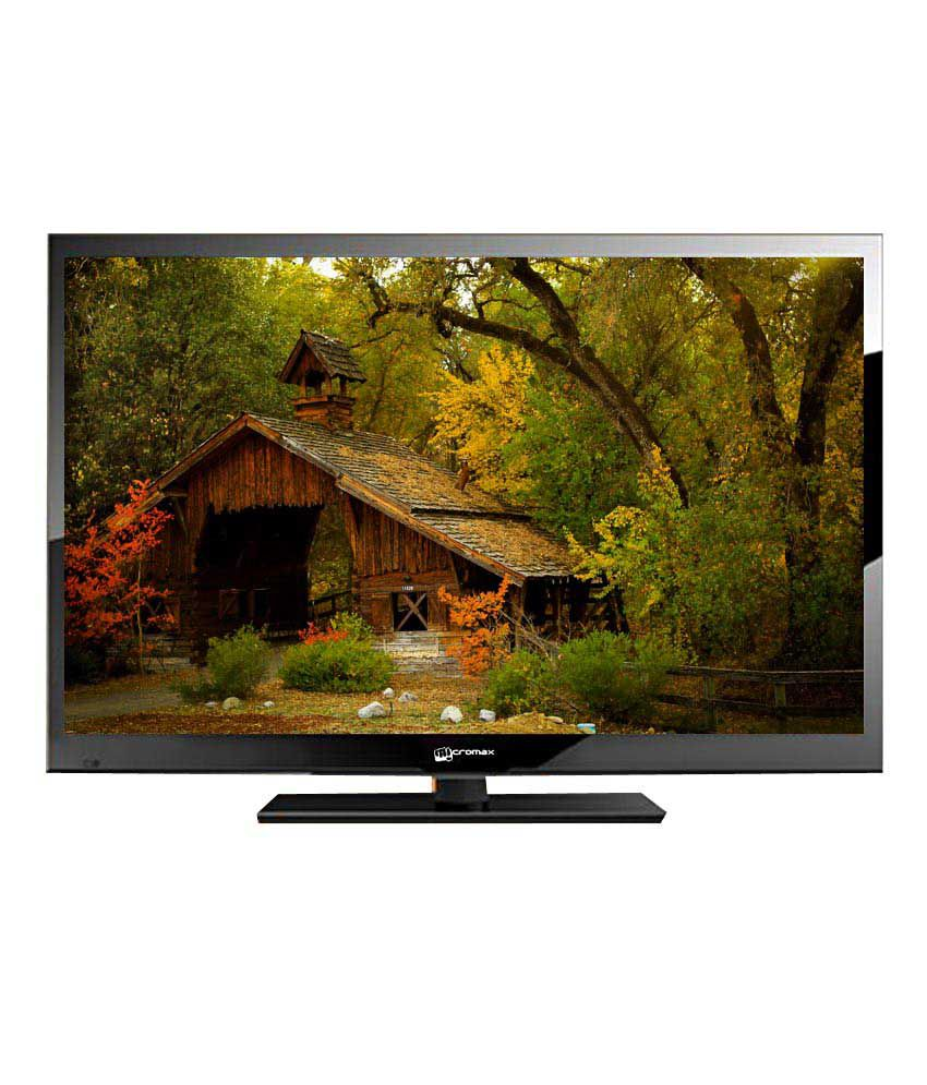 Micromax L32T7270 81.28 cm (32) HD Ready LED Television With 1+2 Year Extended Warranty