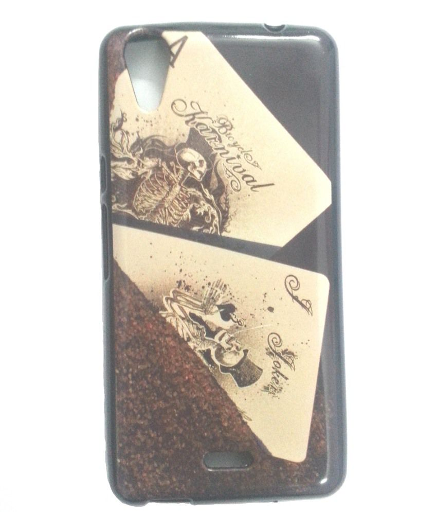 NR Silicon Soft Back Cover Case For Micromax Canvas Selfie Lens Q345   Multicolor