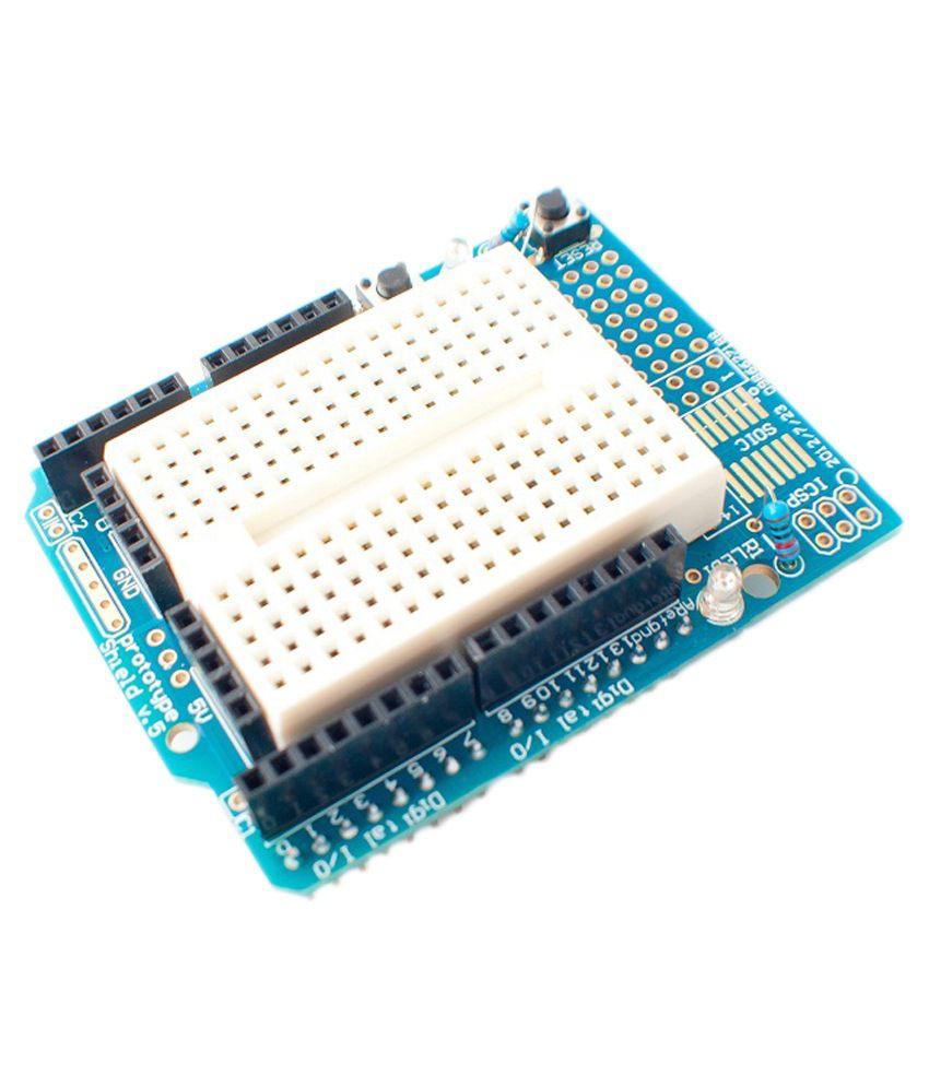 Sunrobotics mini breadboard for arduino uno protoshield