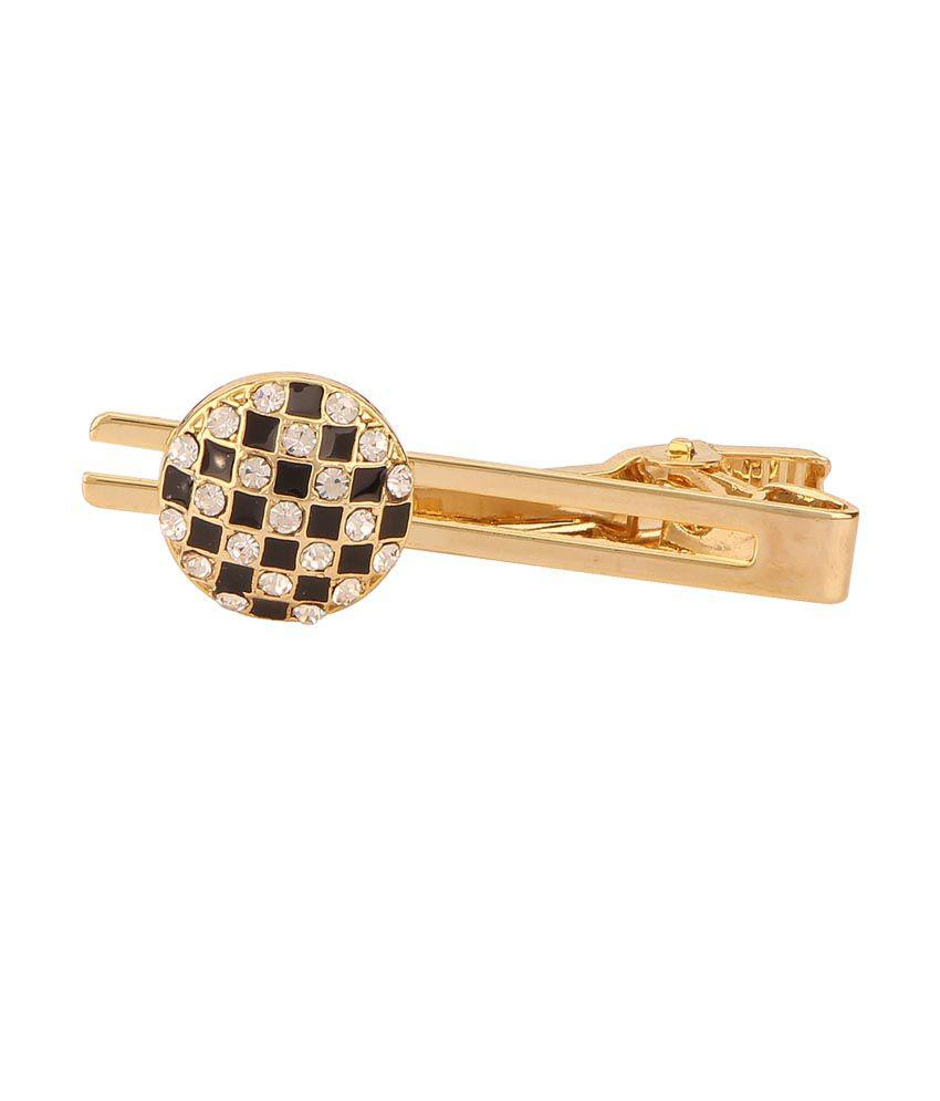 Tripin Gold Metal Cufflinks