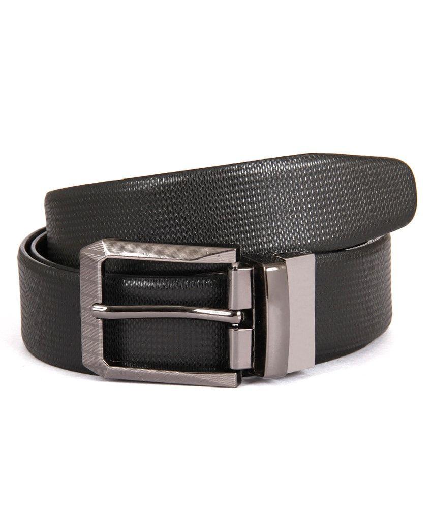 Zonon Black Casual Belt