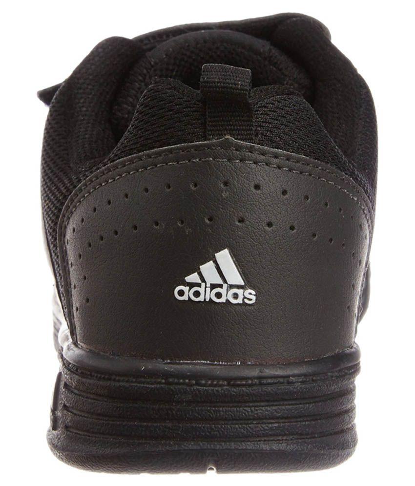 adidas black velcro school shoes online