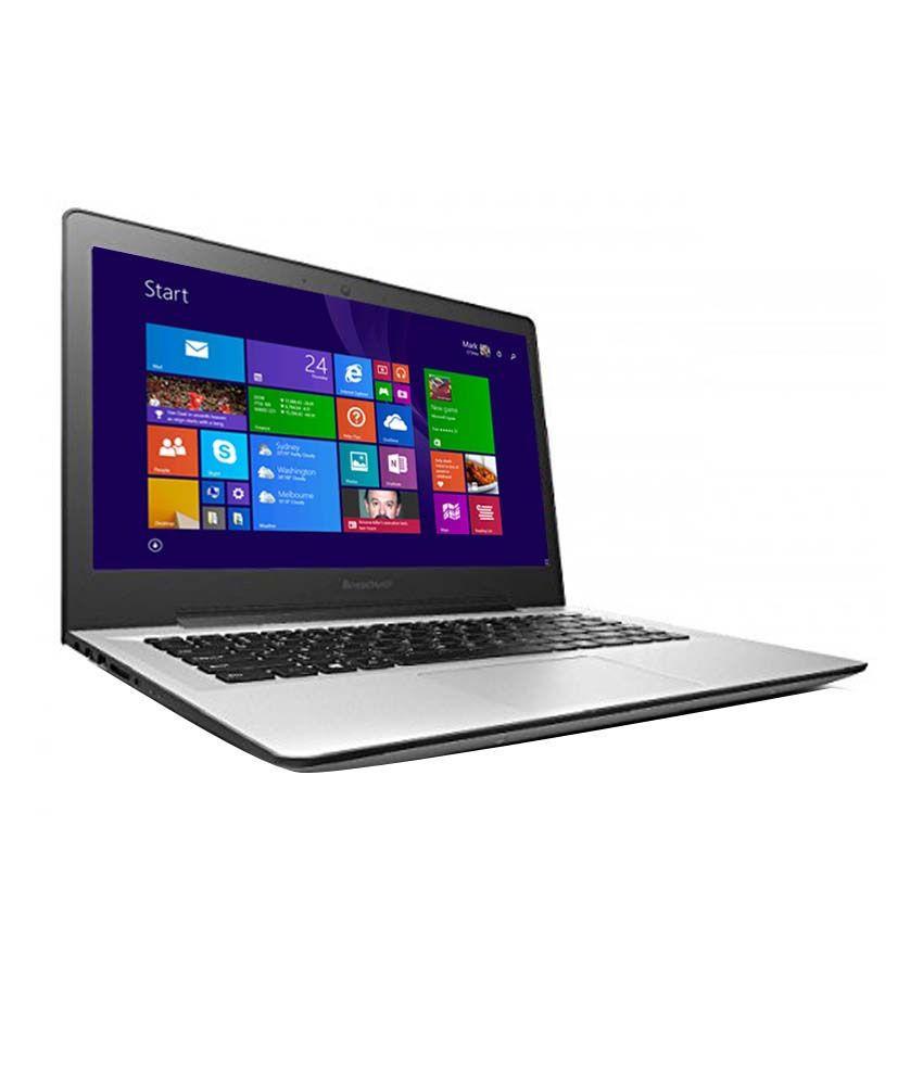 Lenovo U41-70 Laptops (80JV007GIN) (5th Gen Intel Core i5- 4GB RAM- 1TB HDD- 35.56 cm (14)- Windows 8.1- 2GB Graphics) (Silver)