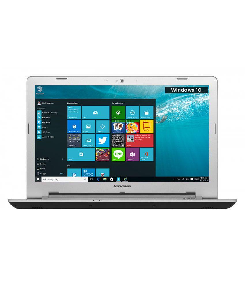 Lenovo Z51-70 Notebook (80K600W0IN) (5th Gen Intel Core i5- 4GB RAM- 1TB HDD- 39.62 cm (15.6)- Windows 10- 2GB Graphics) (Black)