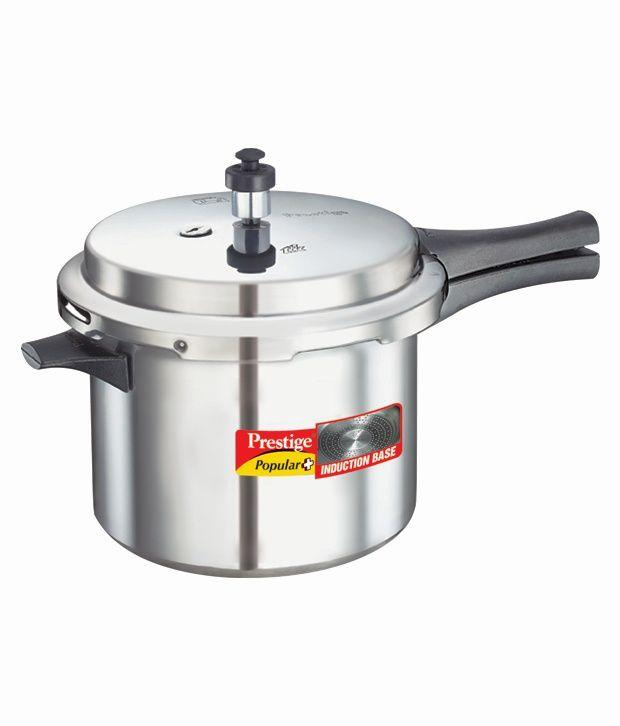 prestige silver aluminium pressure cooker best price in. Black Bedroom Furniture Sets. Home Design Ideas