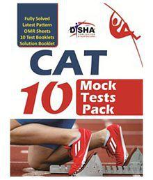 CAT 10 MOCK TEST PACK (Test Booklets/ OMR sheets/ Solution Booklet)