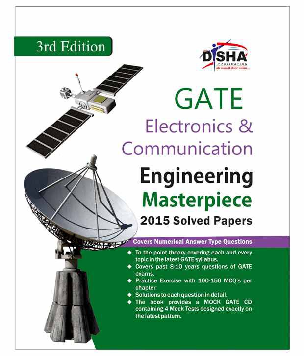 GATE Electronics & Communication Engineering Masterpiece 2016 with 4 Mock  Test CD 3rd edition Paperback (English) 2015