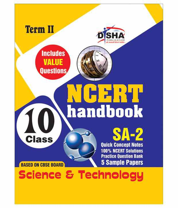 NCERT Handbook Term 2 Science Class 10 (Value Questions) Sample Papers +  Revision Material