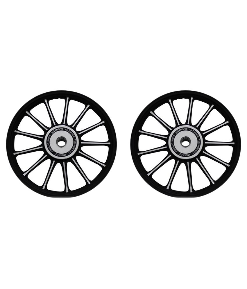 9d365b2949a Spedy Silver Bike Alloy Wheel for Classic 350 - Set of 2: Buy Spedy .