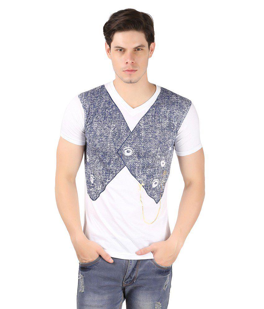 A1 Tees White Cotton Tshirt