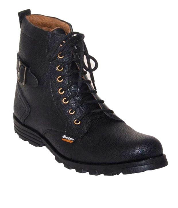 Lagesto Black Boots
