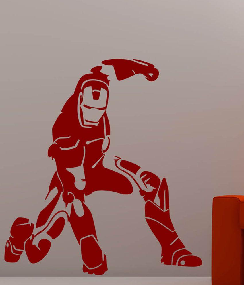 ... Trends On Wall Iron Man Sticker   Medium Part 54