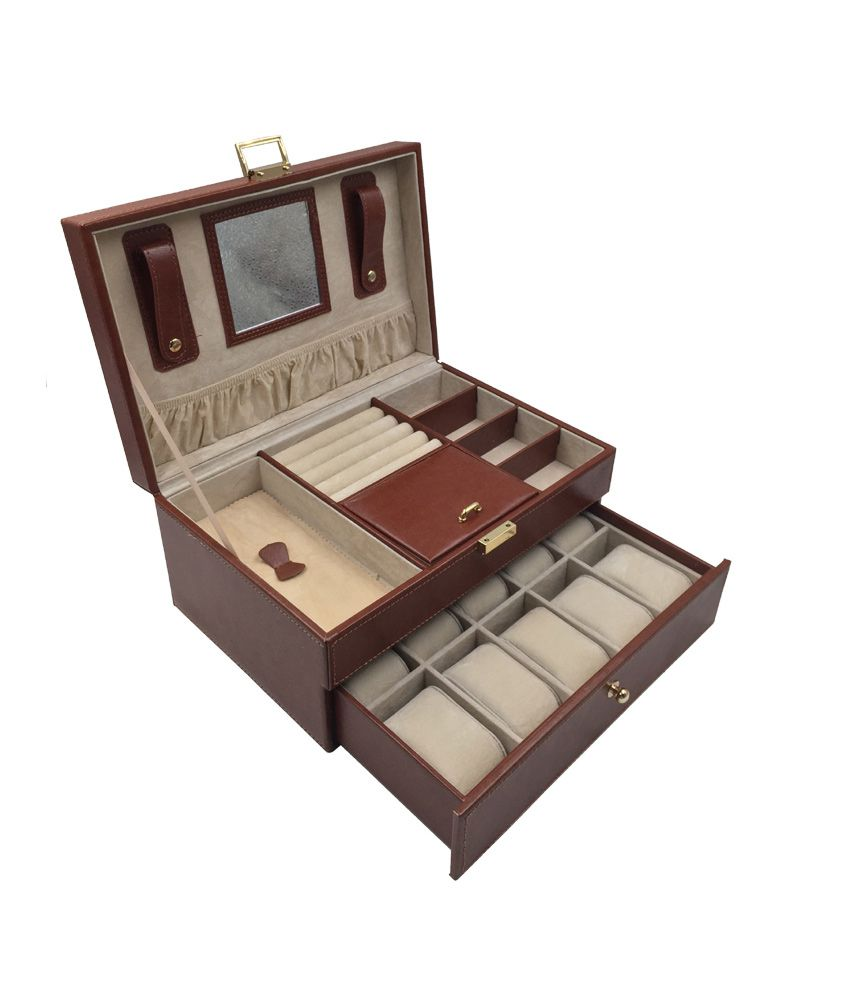 Knott Brown Designer Jewellery cum Watch Case