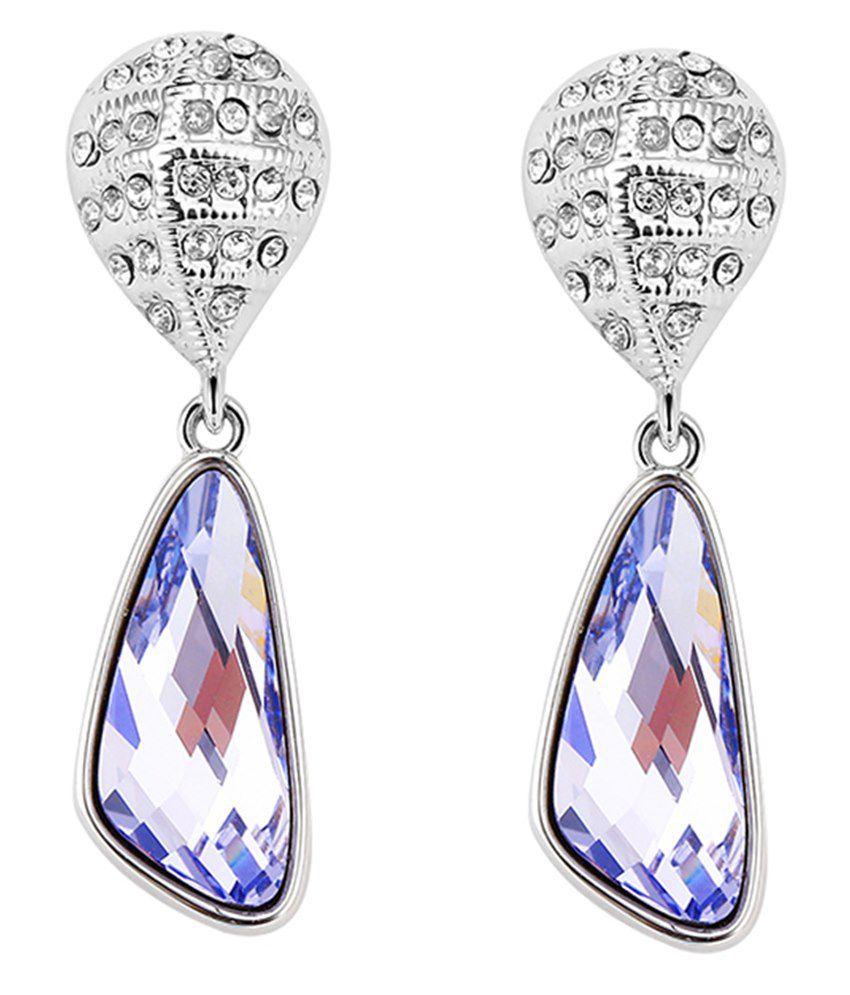 Tia Jewels Swarovski Crystals Earrings