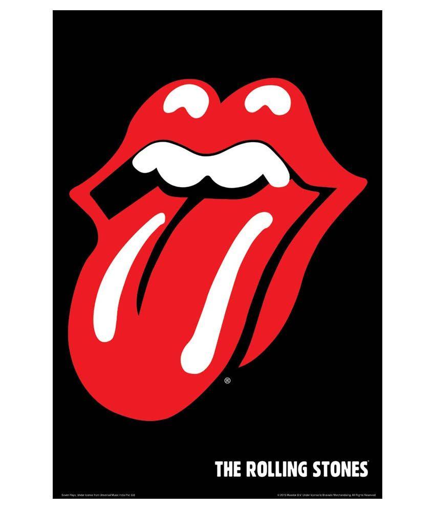 Bravado Rolling Stones Tongue Printed Poster: Buy Bravado ...