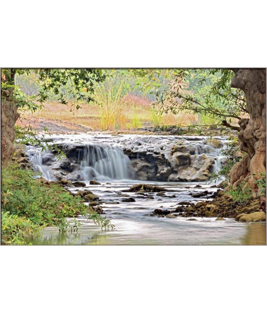 Pfowl Nachanbor Waterfall Small Poster Buy Pfowl Nachanbor Waterfall Small Poster At Best