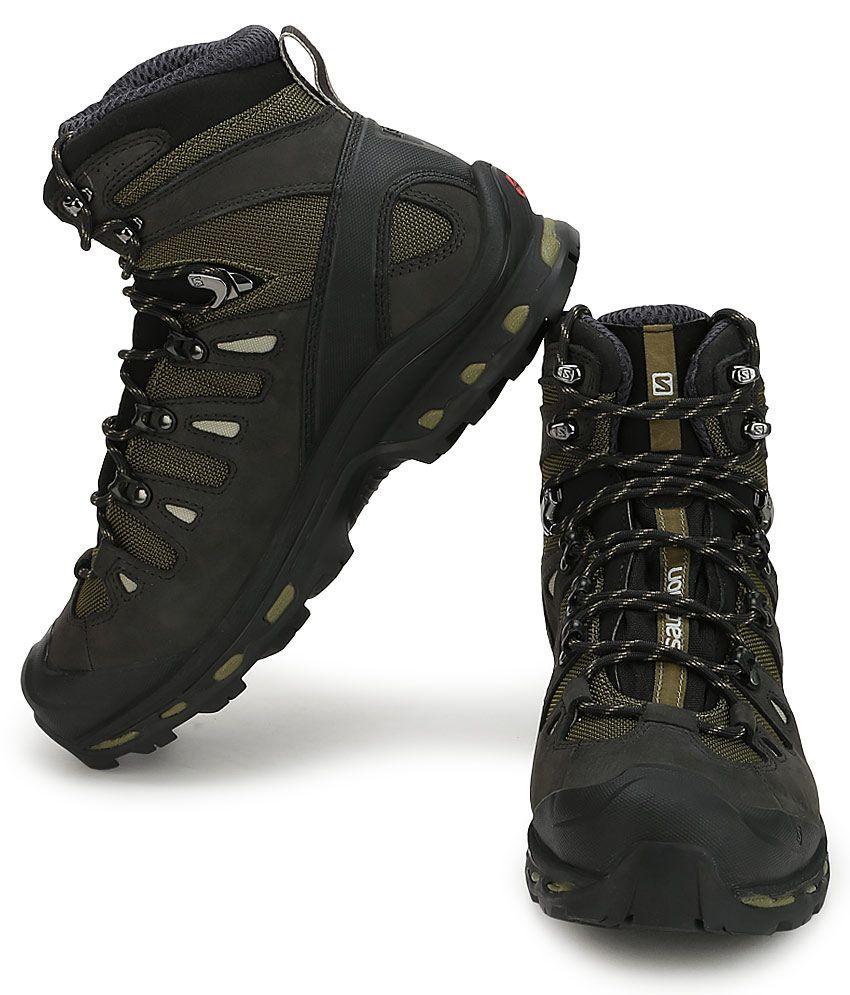 59116ccae80 Salomon Quest 4D 2 Gtx Green Hiking Shoes