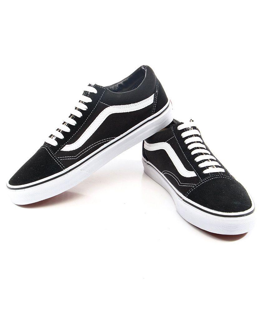 Vans Old Skool Black Casual Shoes - Buy