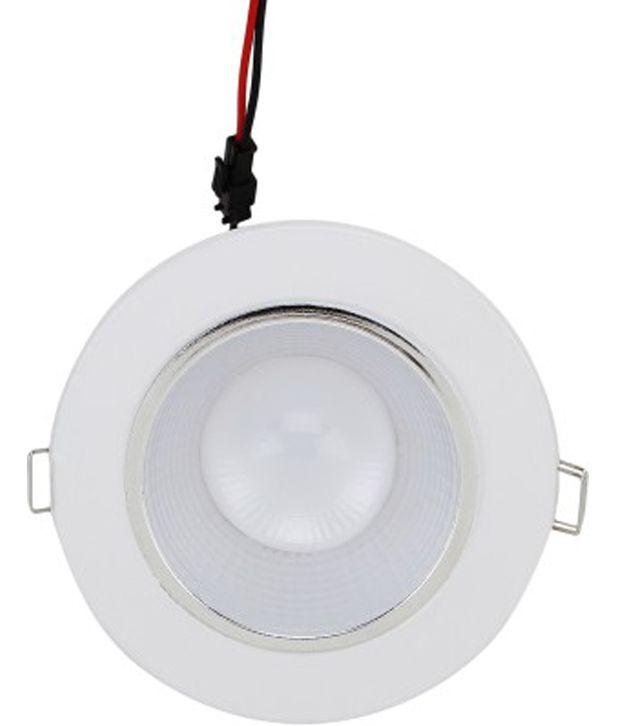 Whiteray Led Conceiled False Ceiling Egg Light 20 Watt Ceiling Light White Buy Whiteray Led