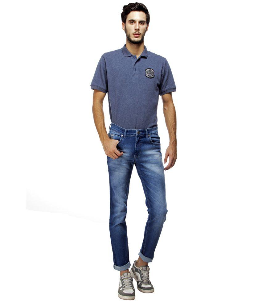 Brooklyn Borough Blue Skinny Fit Jeans