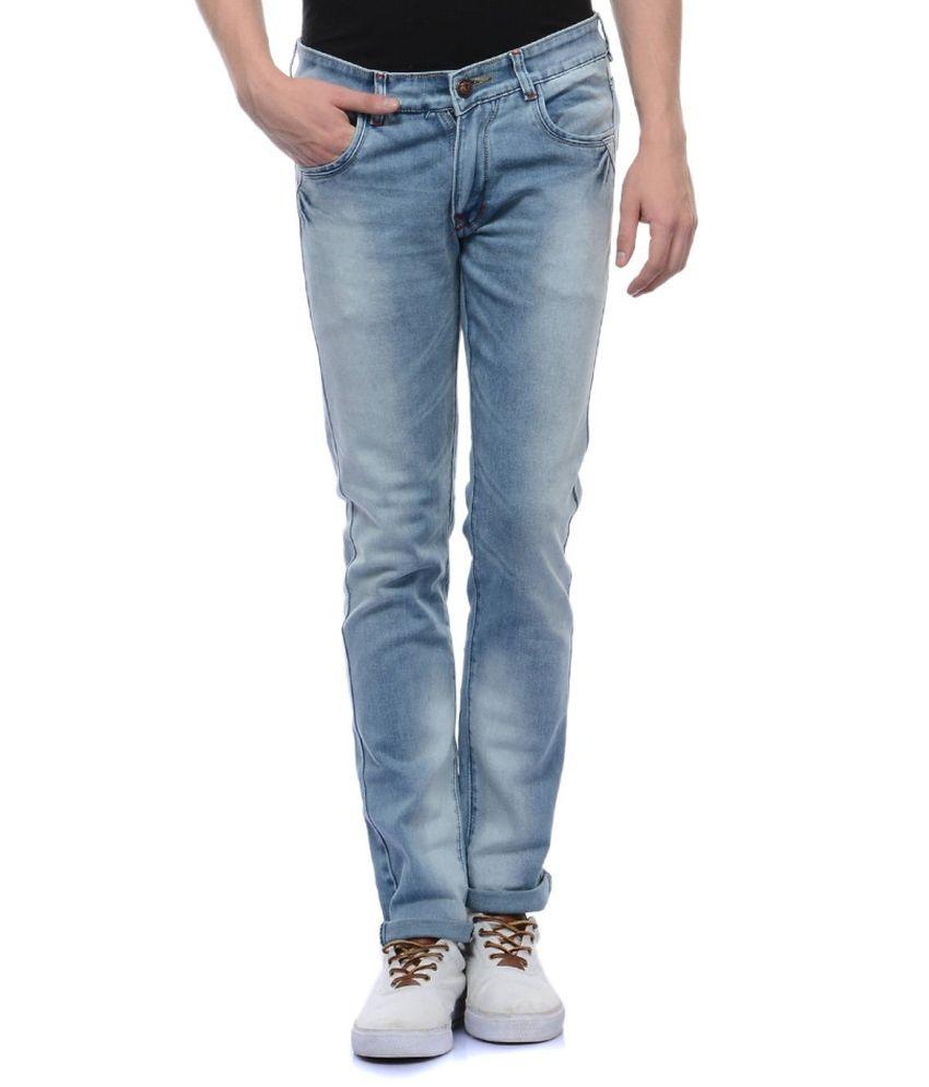 Flying Port Blue Slim Fit Jeans