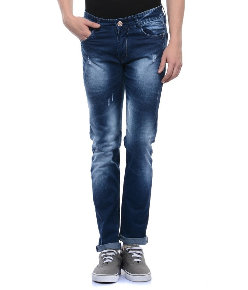 Flying Port Blue Slim Fit Jeans