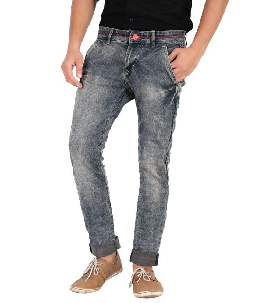 Jimmy & Jordan Grey Cotton Blend Jeans