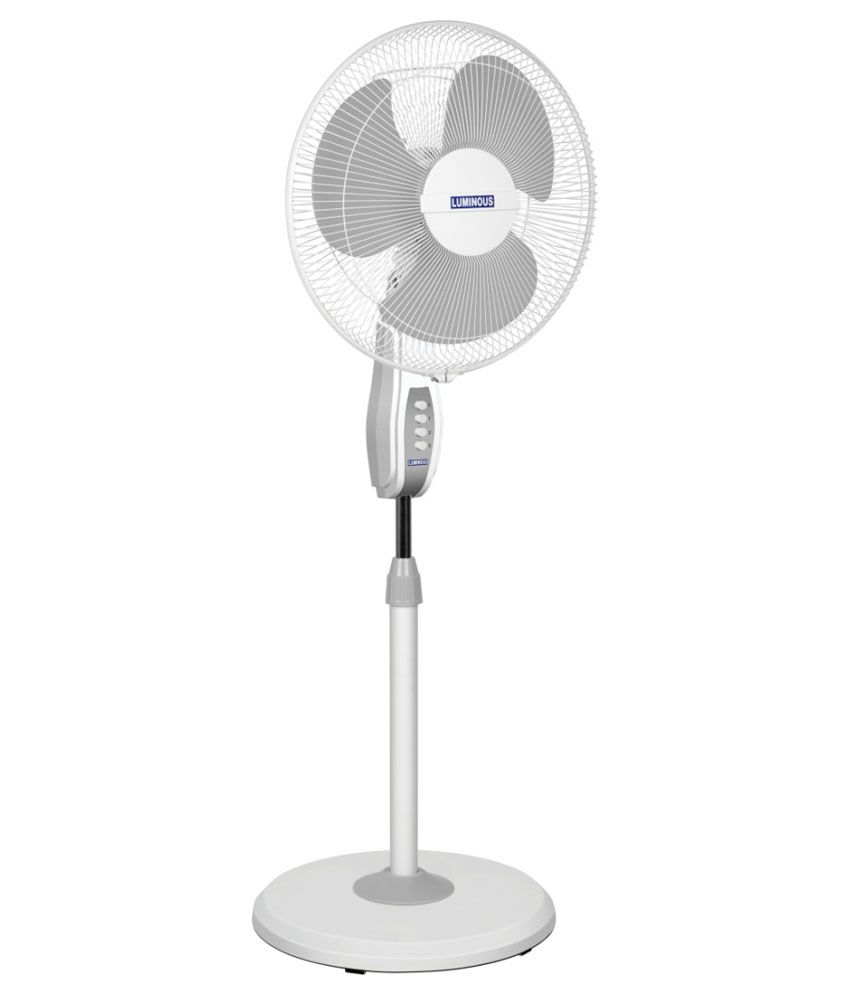 Luminous 400 Mojo Pedestalfan White Price In India Buy
