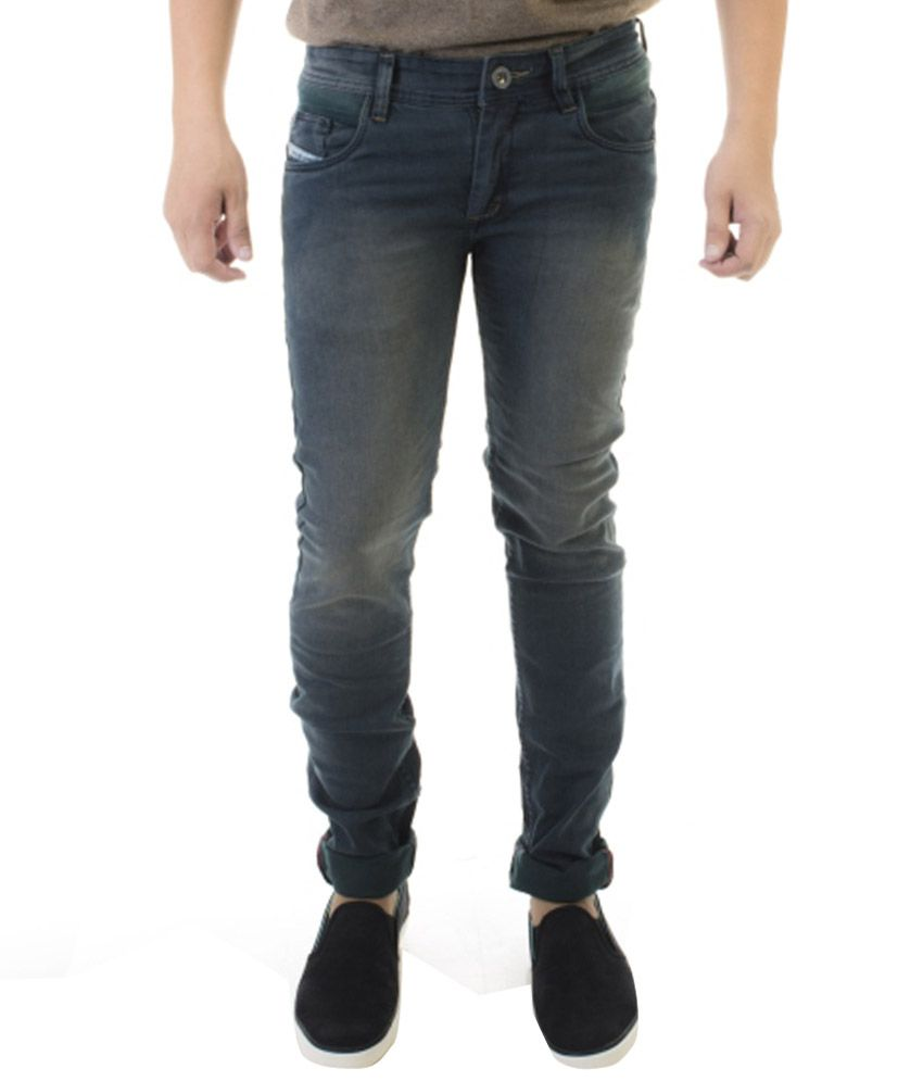 Jeanster Grey Skinny Fit Jeans