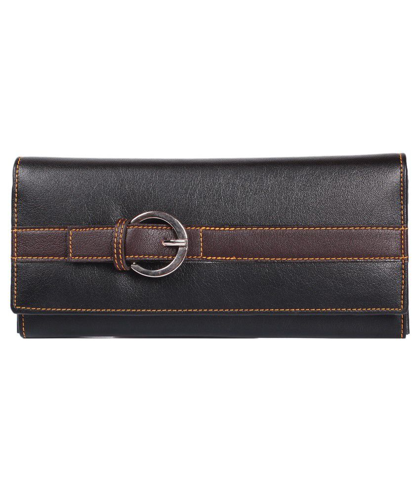Lee Italian Black Regular Wallet