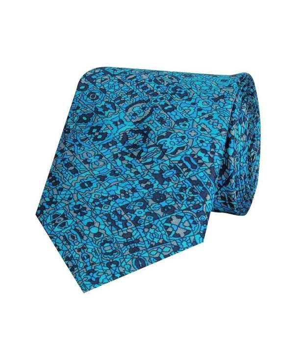 Tiekart Blue Silk Tie